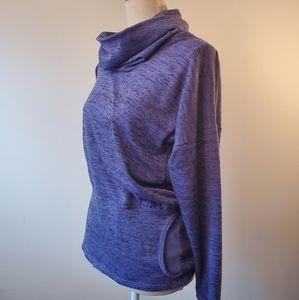 Athleta purple runners sweatshirt size medium